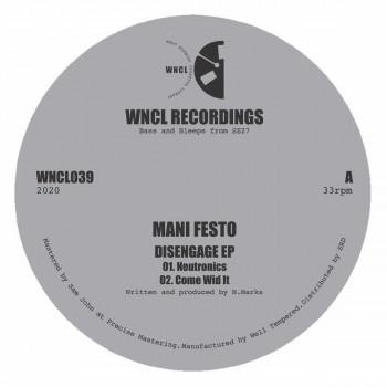 Mani Festo - Disengage EP