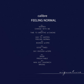 Calibre - Feeling Normal